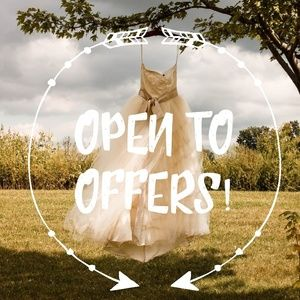 I welcome offers!